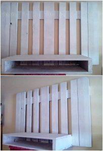 Pallet Wall LED Holder