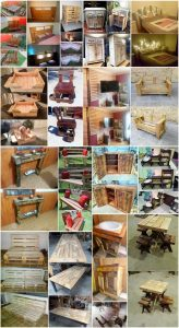 Amazing DIY Projects with Shipping Wood Pallets