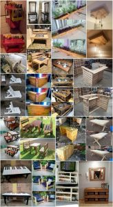 Amazing Tips to Convert Recycled Pallets into Useful Things