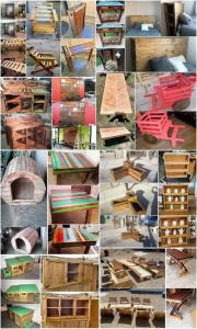 Stunning Shipping Wood Pallets DIY Projects