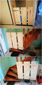 Pallet Fence Door