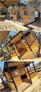 Pallet Garden Cabin or Playhouse