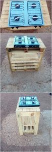 Pallet Stove