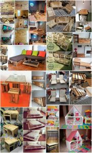 Brilliant Ideas with Recycled Wood Pallets