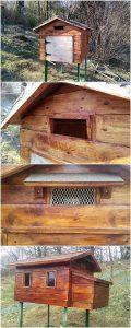 Pallet Birdhouse