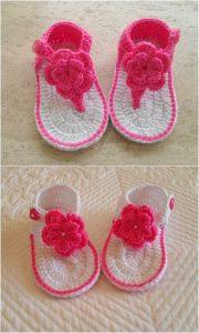 Crochet Booties Design
