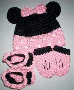 Crochet Hat and Booties