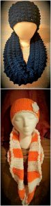 Crochet Hat and Scarf Idea