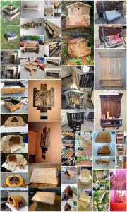 Make Something Useful with Recycled Wood Pallets
