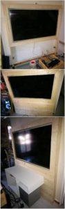 DIY Pallet Wall LED Holder