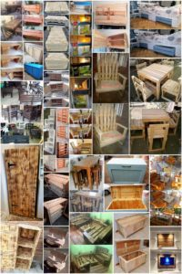 Impossible Ideas Made with Scraped Wood Pallets