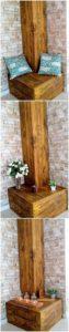 Pallet Corner Seat or Table