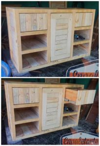 Functional and Inexpensive Wood Pallet Creations