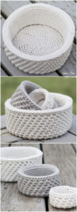 100 Free Crochet Basket Patterns for Beginners