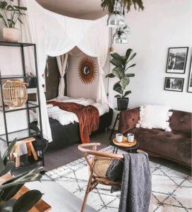 Bohemian Bedroom Decor (10)