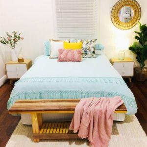 Bohemian Bedroom Decor Design (1)