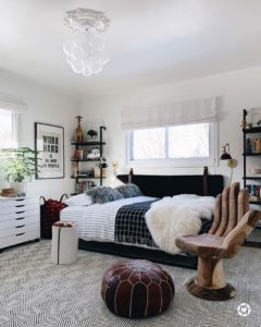 Bohemian Bedroom Decor Design (18)