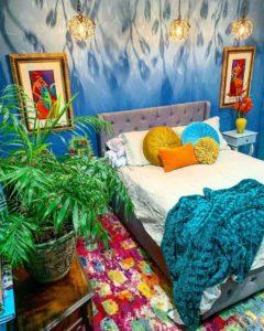 Bohemian Bedroom Decor Design (22)
