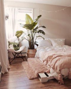 Bohemian Bedroom Decor Design (23)