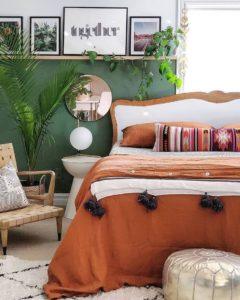 Bohemian Bedroom Decor Design (25)