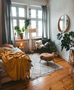 Bohemian Bedroom Decor Design (26)