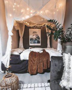 Bohemian Bedroom Decor Design (27)