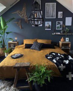 Bohemian Bedroom Decor Design (4)