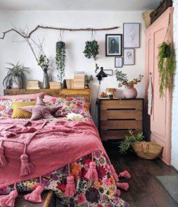 Bohemian Bedroom Decorating (20)