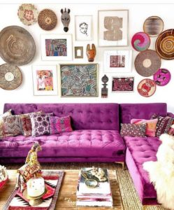 Bohemian Home Interior Decor (21)