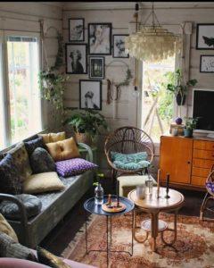 Bohemian Interior Design (17)