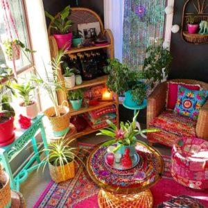 Bohemian Interior Design (29)