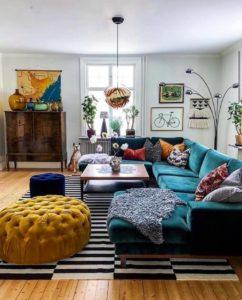 Bohemian Interior Design (50)