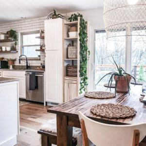 Bohemian Kitchen Decor (14)