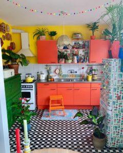 Bohemian Kitchen Decor (8)