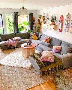 Bohemian Style Home Interior Decor (14)