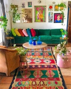 Bohemian Style Home Interior Decor (25)