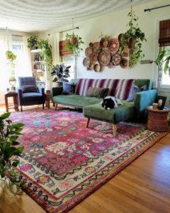 Bohemian Style Home Interior Decor (30)