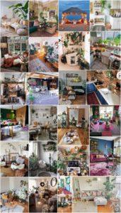 Charming Bohemian Home Interior Decor Design Ideas