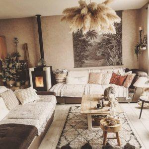 Modern Style Bohemian Interior Design (1)