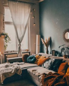 Modern Style Bohemian Interior Design (13)