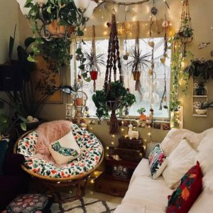 Modern Style Bohemian Interior Design (17)