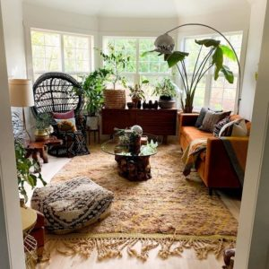 Modern Style Bohemian Interior Design (25)