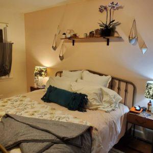 Bohemian Style Beautiful Bedroom Design (13)