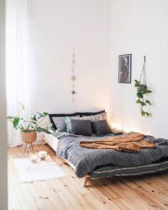 Bohemian Style Beautiful Bedroom Design (18)