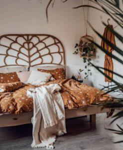 Bohemian Style Beautiful Bedroom Design (20)