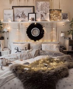 Bohemian Style Beautiful Bedroom Design (29)