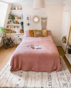 Bohemian Style Beautiful Bedroom Design (3)