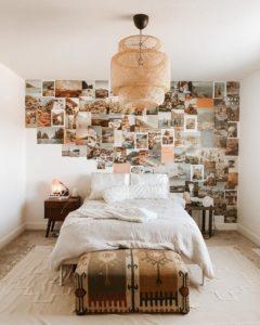 Bohemian Style Beautiful Bedroom Design (30)