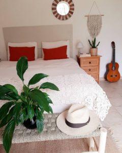 Bohemian Style Beautiful Bedroom Design (34)