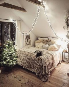 Bohemian Style Beautiful Bedroom Design (39)